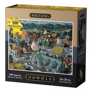 NIB Dowdle Folk Art Solvang Puzzle